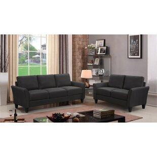 Annunciato 2 Piece Standard Living Room Set by Red Barrel Studio®