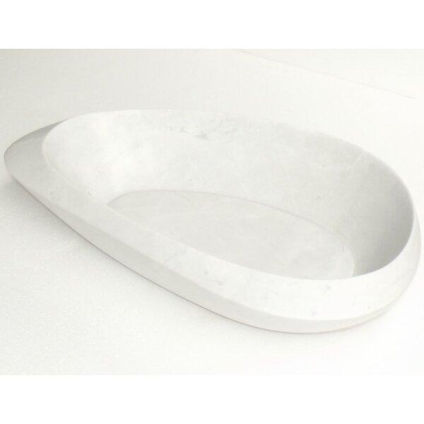 Pebble Stone Specialty Vessel Bathroom Sink by Eviva