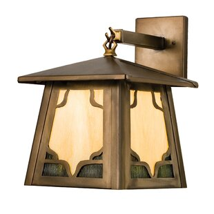 Purchase Allwood 1-Light Outdoor Wall Lantern By Bloomsbury Market