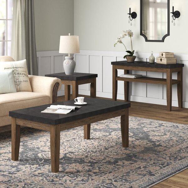 Chugwater 3 Piece Coffee Table Set by Three Posts Three Posts