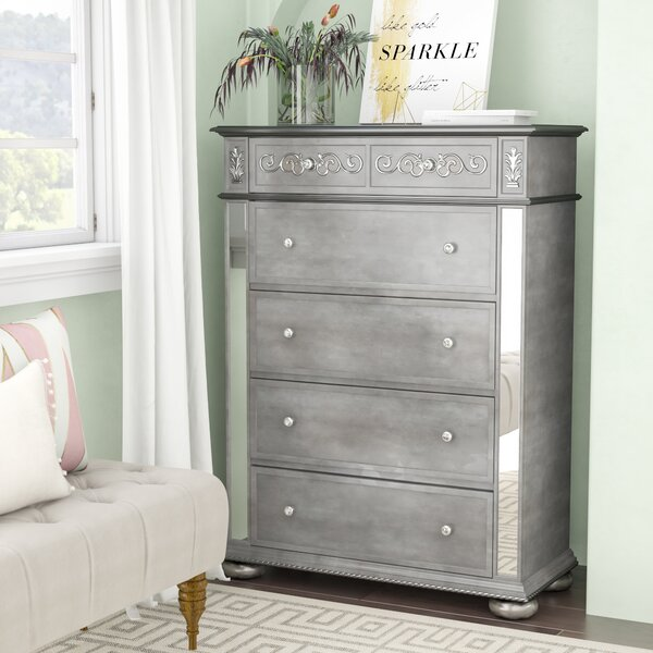 Mcdermott 5 Drawer Chest by House of Hampton