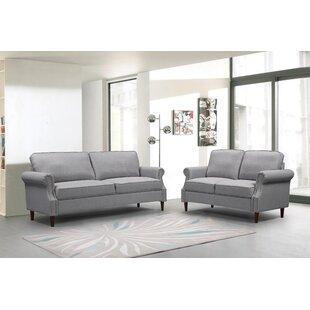 Torbay 2 Piece Standard Living Room Set by Red Barrel Studio®