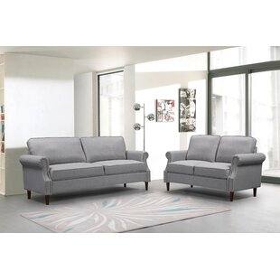 Wally 2 Piece Living Room Set by Red Barrel Studio®