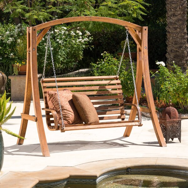Stephania Porch Swing with Stand by Bay Isle Home