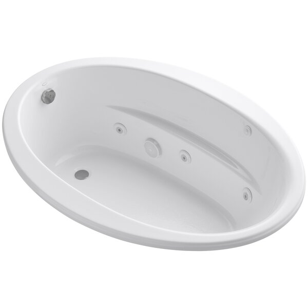 Sunward 60 x 42 Whirlpool Bathtub by Kohler