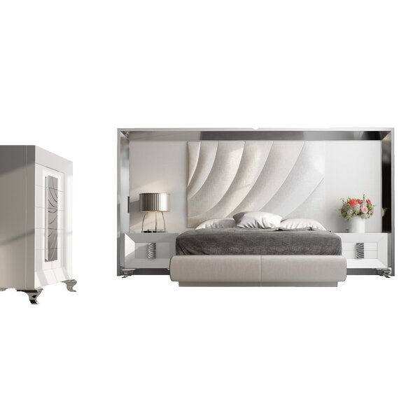 Jerri Standard 4 Piece Bedroom Set by Everly Quinn Everly Quinn