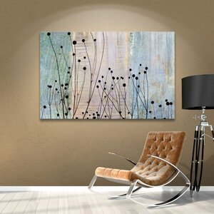 Dark Silhouette II Graphic Art on Wrapped Canvas by Andover Mills