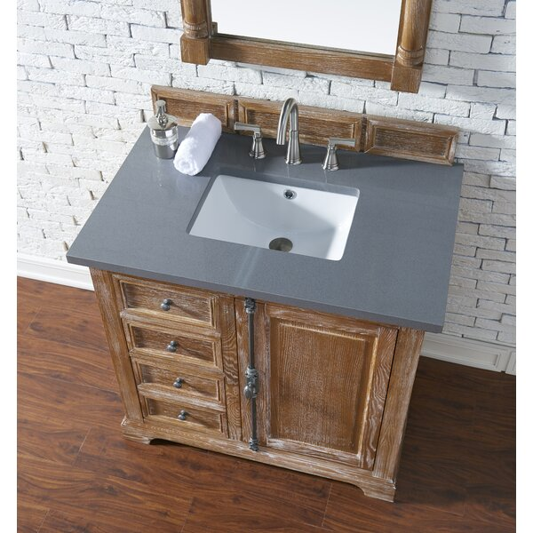 Ogallala 36 Single Driftwood Bathroom Vanity Set by Greyleigh