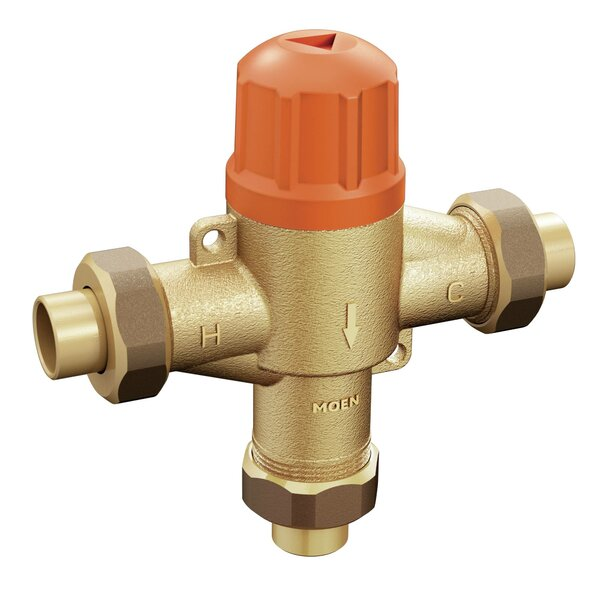 Commercial Sensor-Operated Electronic Mixing Valve by Moen