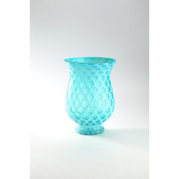 Glass Table Vase by Diamond Star Glass