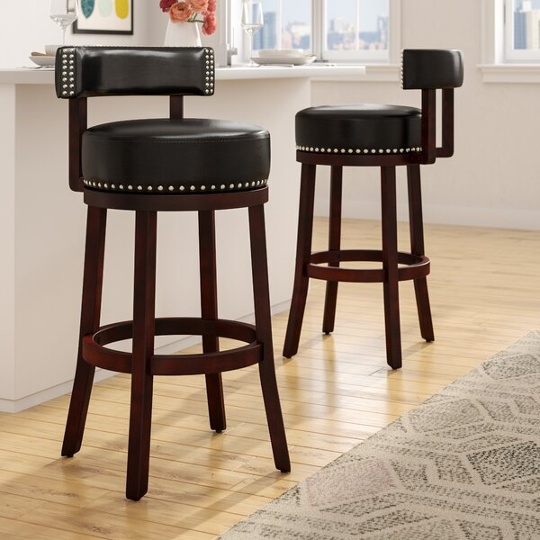 Tonia 29.5 Swivel Bar Stool (Set of 2) by Zipcode Design
