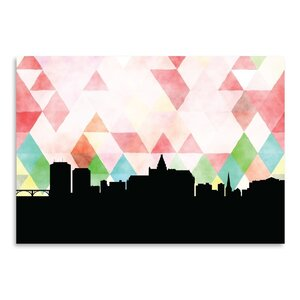 Saskatoon Triangle Graphic Art by East Urban Home