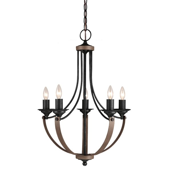 Kenna 5-Light Empire Chandelier by Laurel Foundry