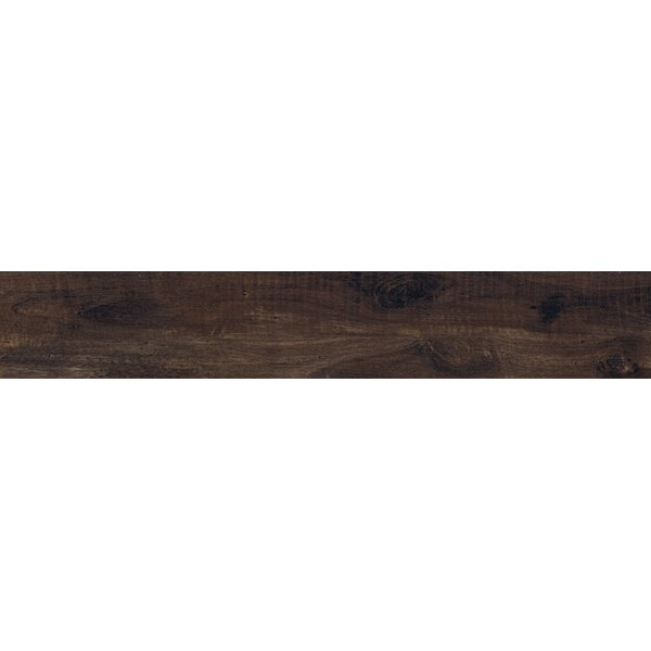 Country River Bark 8 x 48 Porcelain Wood Look Tile in Brown by MSI