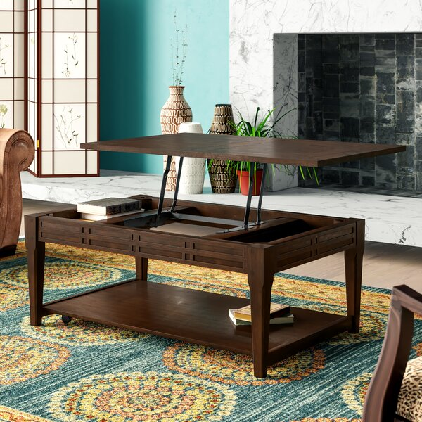 Sayre Lift Top Coffee Table With Storage By World Menagerie