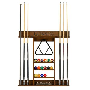 Guinness Pool Table Wall Cue Rack