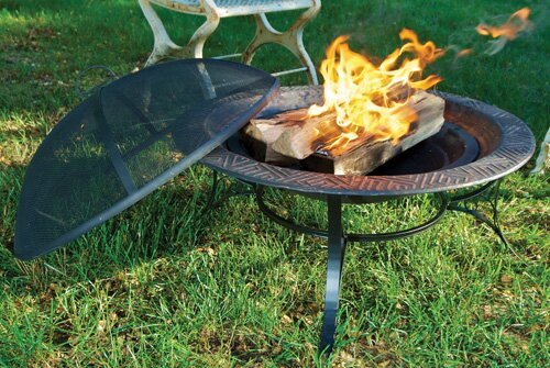 Steel Charcoal Fire Pit by Good Directions