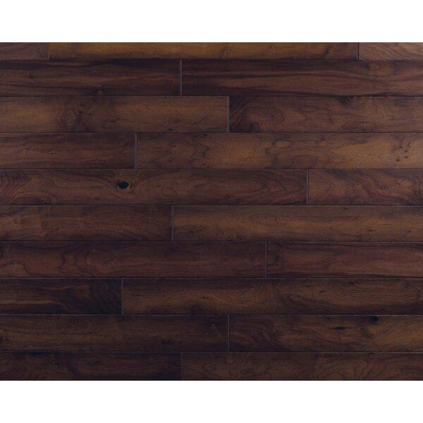 Hometown 5 Engineered Walnut Hardwood Flooring in Brick Front by Mannington