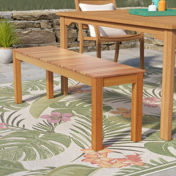 Mullican Wooden Picnic Bench by Beachcrest Home Beachcrest Home