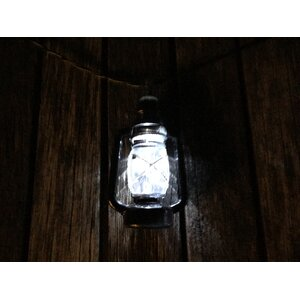 Solar Nantucket Lantern String Lights