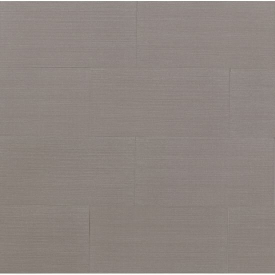Weston 12 x 24 Porcelain Fabric Look Tile in GrayGlazed Gray by Grayson Martin