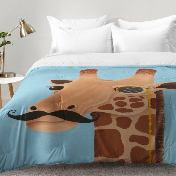 Gentleman Giraffe Comforter Set