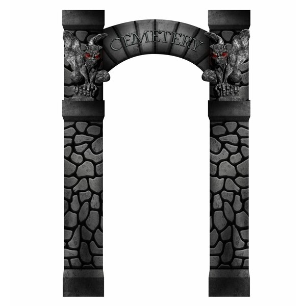 Cemetery Arch Entrance Standup by Advanced Graphics