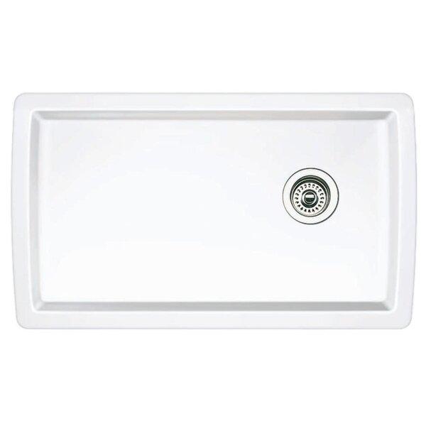 Diamond 33.5 L x 18.5 W Undermount Kitchen Sink by Blanco