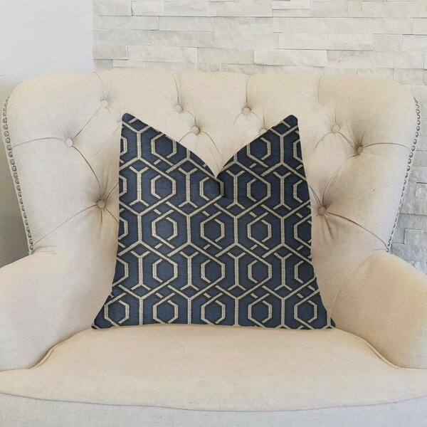 Caverly Luxury Throw Pillow by Longshore Tides