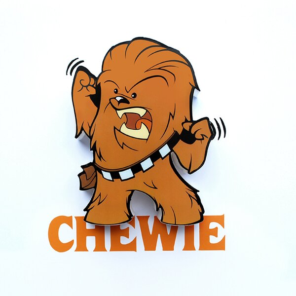 3D Chewie Mini Deco 2-Light Night Light by 3D Light FX