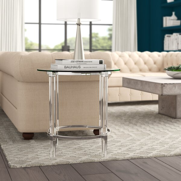 Aleah End Table by Modern Rustic Interiors