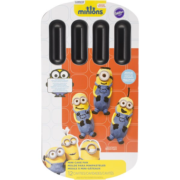 12 Cavity Minions Novelty Cake Pan by Wilton