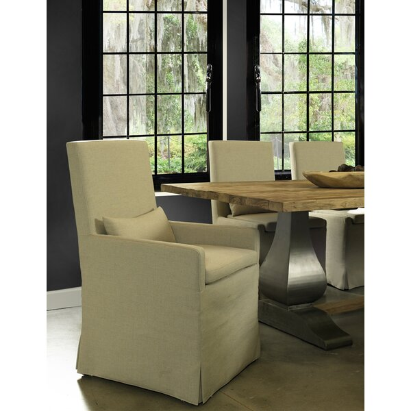 Hoang Arm Dining Upholstered Dining Chair by Gracie Oaks