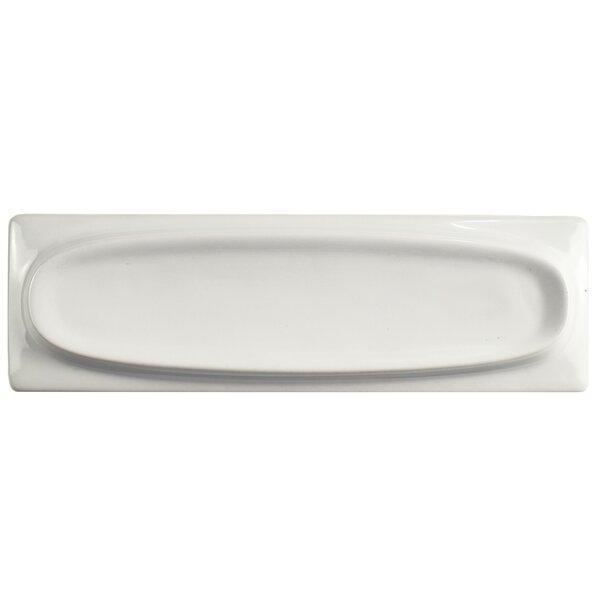 Laurent 3.75 x 11.88 Porcelain Field Tile in White by EliteTile