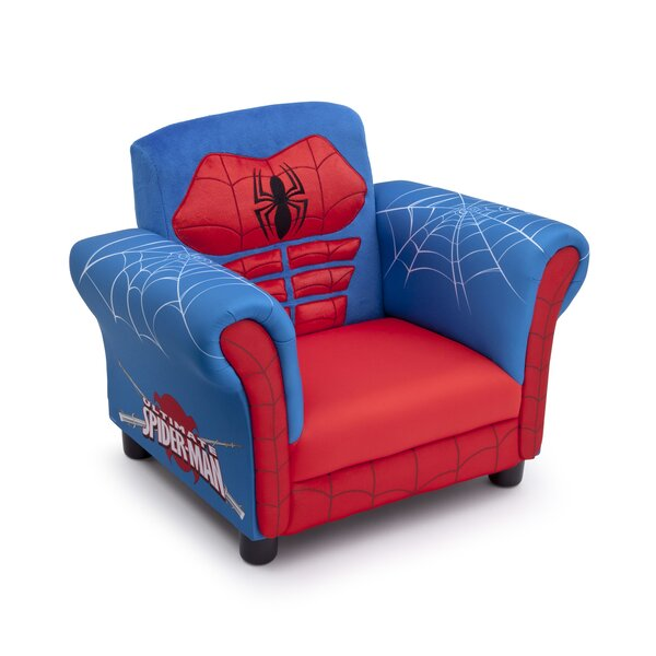 Spider-Man Kids Upholstered Club Chair by Delta Children