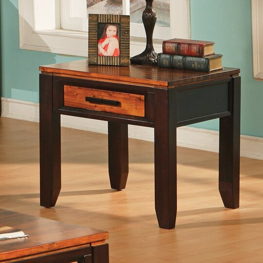 Hidalgo End Table With Storage By Millwood Pines