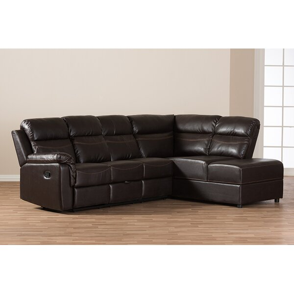 Mcguire Right Hand Facing Sectional With Ottoman By Winston Porter