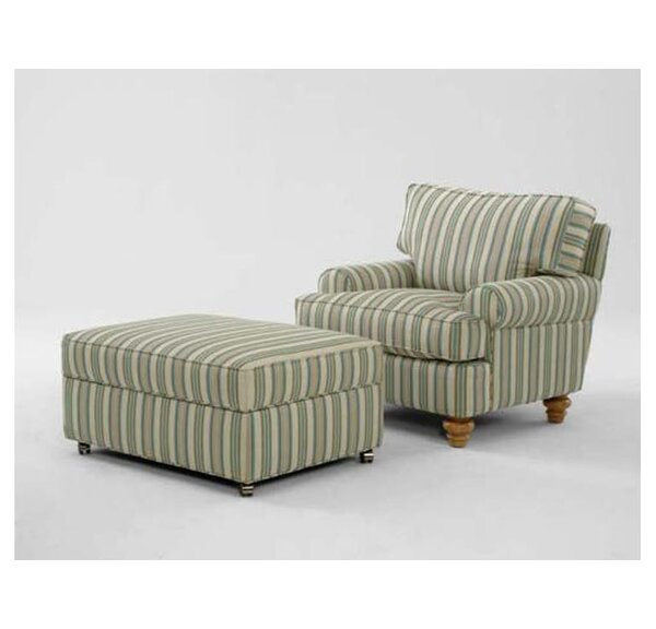 Lowell Ottoman by Braxton Culler