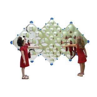 Children's Factory Diamond Bubble Wall Mirror