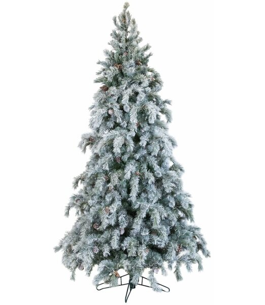 Artificial Christmas Tree Colored and White Lights by The Holiday Aisle