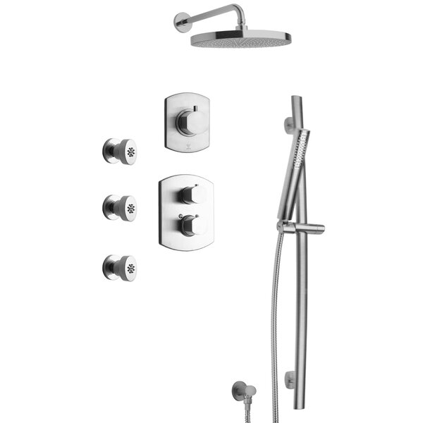 Novello Thermostatic Valve Shower System by LaToscana