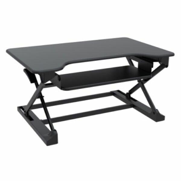 Caire Desktop Height Adjustable Standing Desk by Symple Stuff
