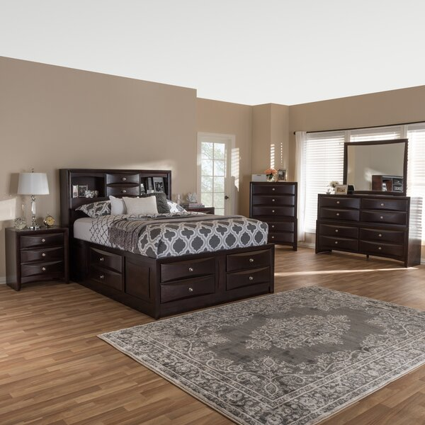 Petrick Queen Platform 6 Piece Bedroom Set by Latitude Run