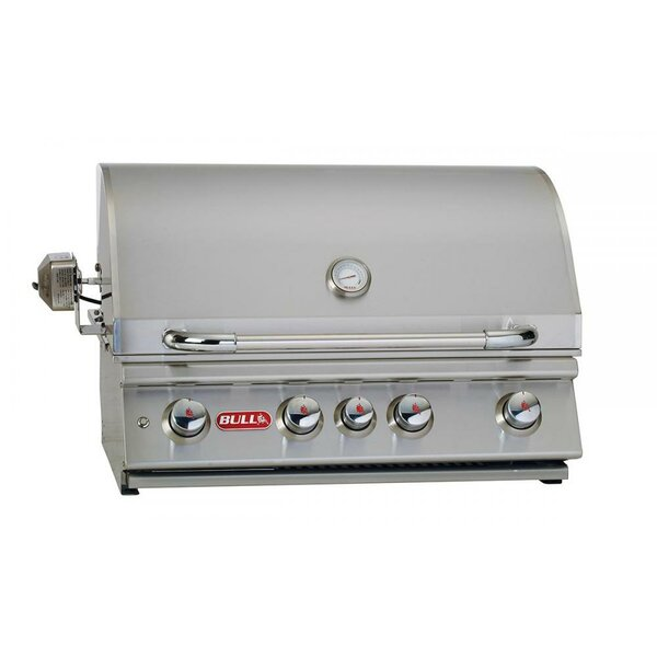 Angus 4-Burner Built-In Propane Gas Grill by Bull