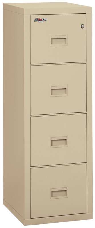 Amazing Turtle Fireproof 4 Drawer Vertical File Cabinet
