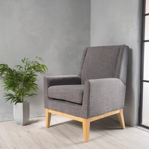 Hierry Wingback Armchair by Langley Street