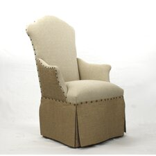 Skirted Armchair by Zentique Inc.
