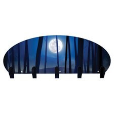 Blue Moon 5 Hook Coat Rack by Next Innovations