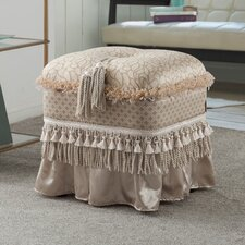 Seraphina Traditional Decorative Ottoman by Astoria Grand