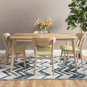 mid-century modern kitchen & dining room sets you'll love | wayfair